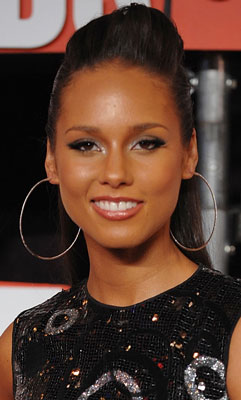 Alicia Keys at the 2009 MTV VMAs