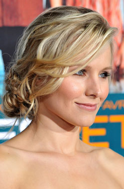 How-To: Kristen Bell's Braided Updo