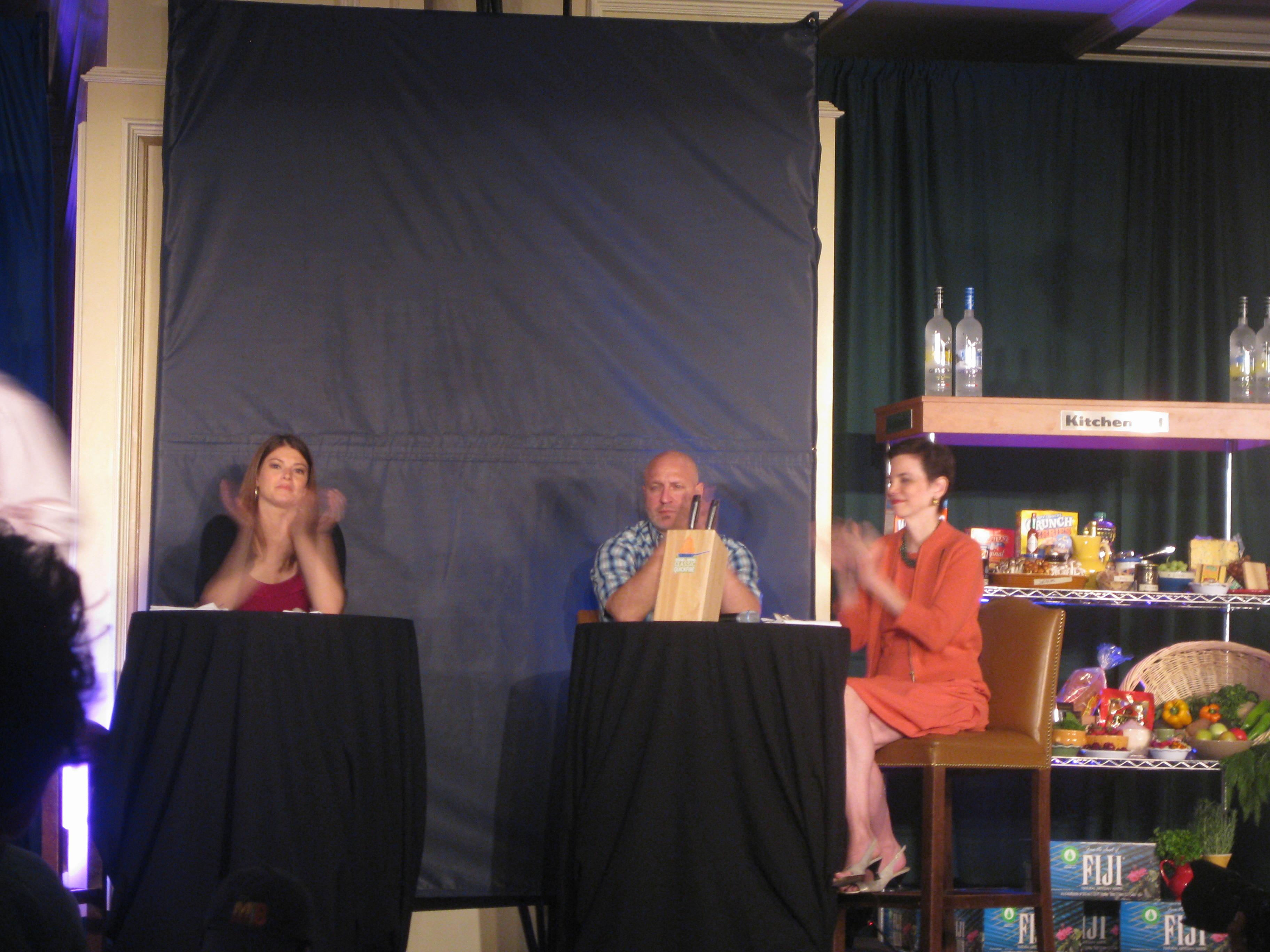 The judges: Gail, Tom, and Dana.