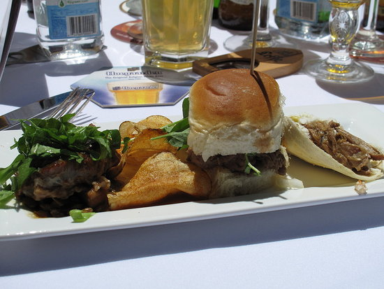 Chef Tim Love's Lunch at the Food & Wine Classic