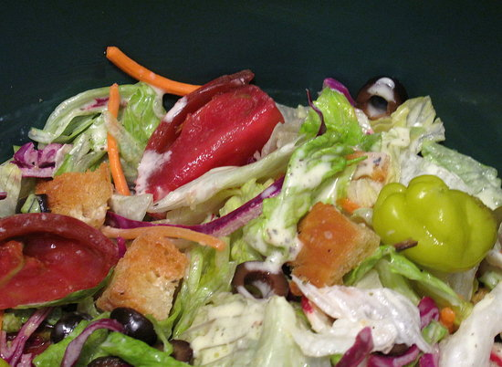 Fast & Easy Recipe For Olive Garden's Garden Salad