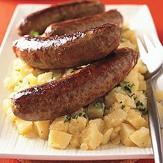 Fast & Easy Dinner: Sausages With Warm Potato Salad