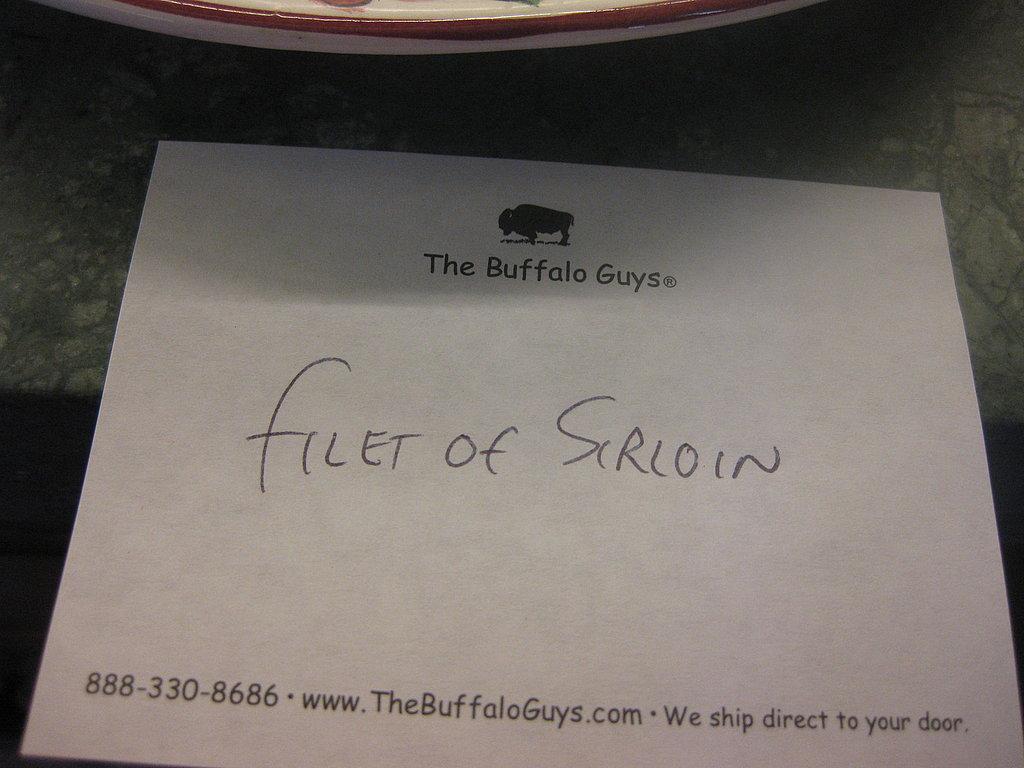 The Buffalo Guys Buffalo Tasting