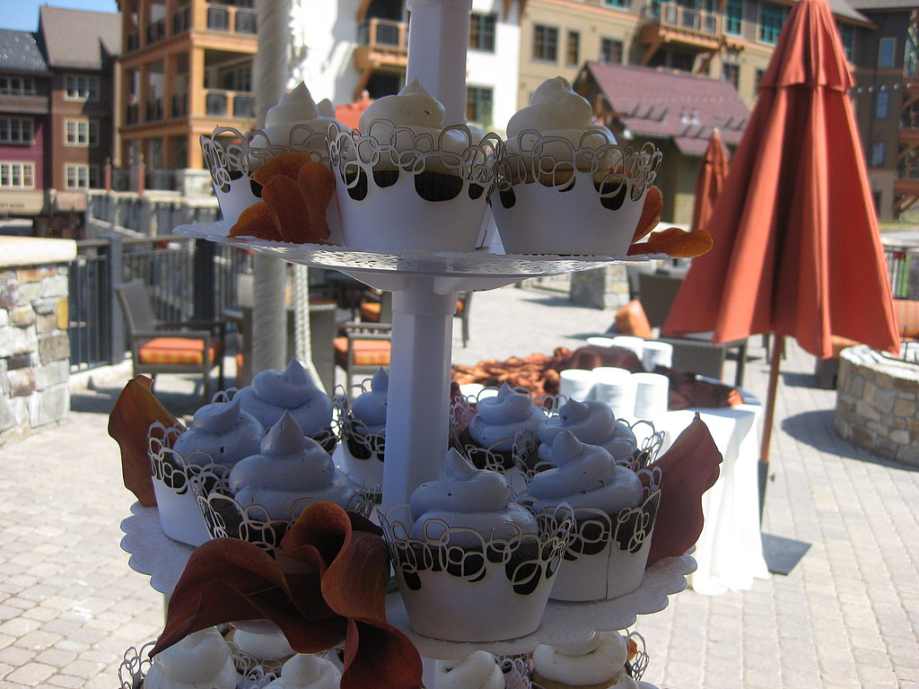 Homemade Cupcake Tower