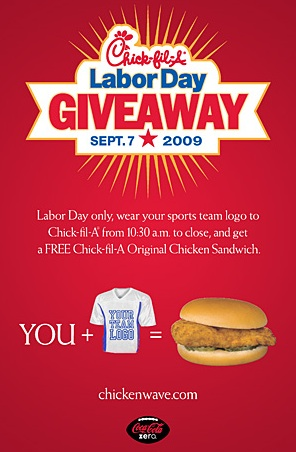 Free Food Alert: Chick-Fil-A Giving Away Free Chicken Sandwiches