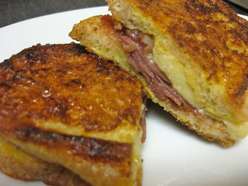 Spanish Ham and Manchego Grilled Cheese Sandwich Recipe | POPSUGAR ...