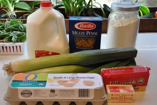 Sharp Cheddar Mac and Cheese With Sauteed Leeks