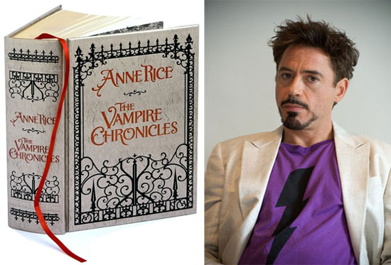 Robert Downey Jr. Might Play Lestat in Vampire Chronicles