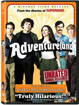 New on DVD Aug. 25, 2009: Adventureland, Duplicity, Sunshine Cleaning