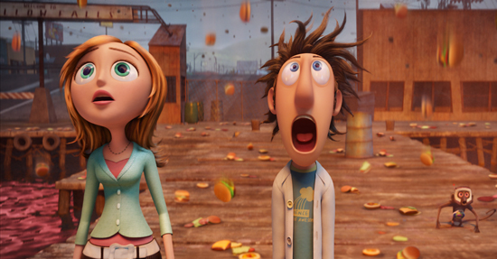 Cloudy With a Chance of Meatballs Leads the Box Office For the Second Weekend in a Row