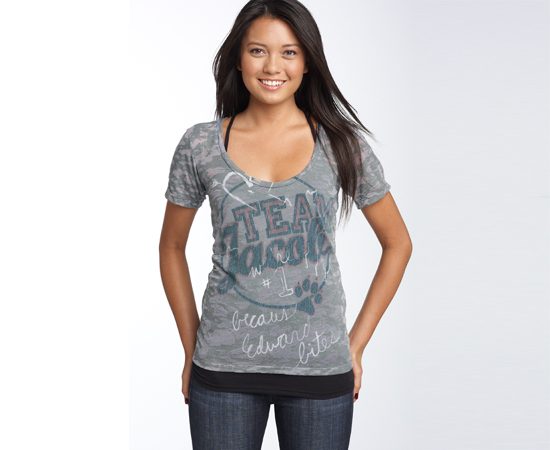 'Team Jacob' Boyfriend T-Shirt, $30
