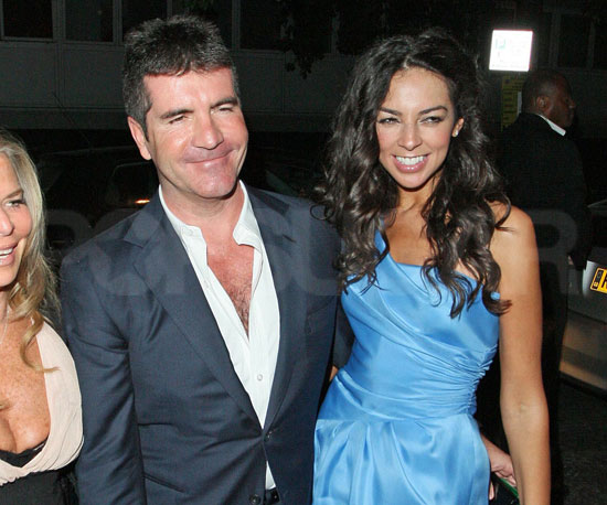 Photo Slide of Simon Cowell and Terri Seymour Out Together in London