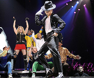 Slide Photo of Madonna In Concert With Tribute to Michael Jackson
