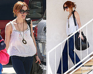 Photos of Ashlee Simpson Leaving Melrose Place Rehearsals