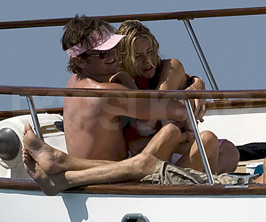 Photo Slide of Sienna Miller With New Boyfriend George Barker, aka DJ Slinky Wizard, in Ibiza