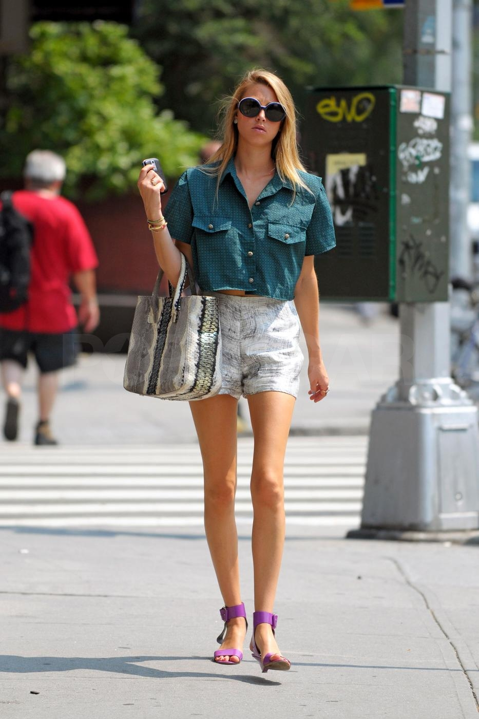 Photos of Whitney Port in NYC
