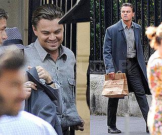 Photos of Leonardo DiCaprio Filming Inception in Paris