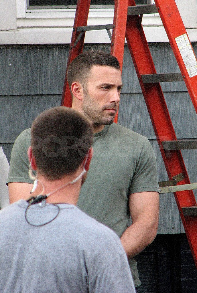 Photos of Ben Affleck on the Set of The Town