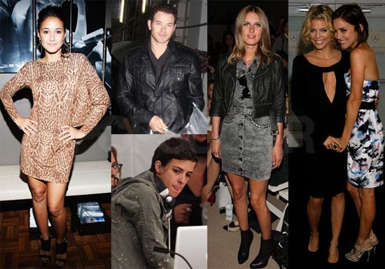 Photos of Samantha Ronoson, Nicky Hilton, Kellan Lutz at New York Fashion Week