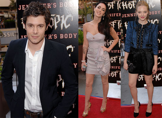 Photos of Megan Fox, Adam Brody, Diablo Cody, Amanda Seyfried at LA Jennifer's Body Premiere