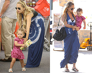 Photos of Nicole Richie With Harlow Madden Out in LA After Sparrow Madden's Birth