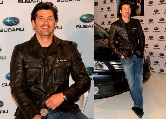 Photos of Patrick Dempsey Promoting Subaru in Spain