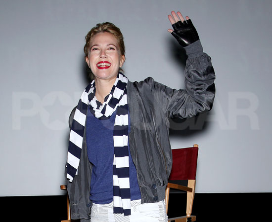 Slide Photo of Drew Barrymore at Special Screening of Whip It