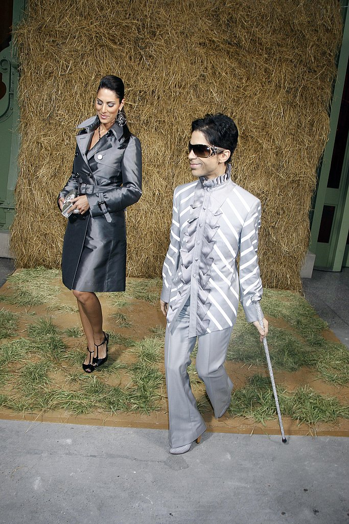 Photos of Rihanna and Prince at Chanel Paris Fashion Week