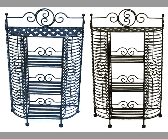 The Wrought Iron CD Rack