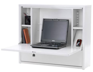 Ikea PS Laptop Workstation Attaches to Your Wall, Frees Up Space