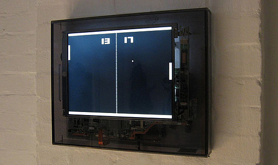 Photos of the Pong Clock From Generate