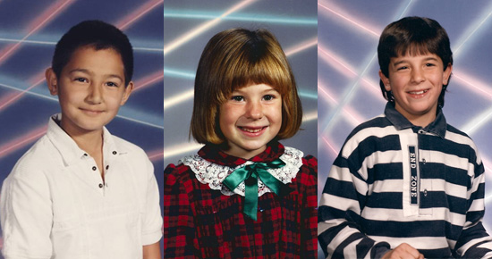 Site Pays Homage to Geeky '80s Laser School Portraits