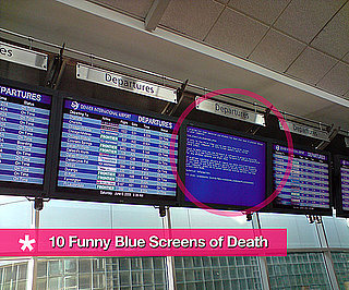 Blue Screens of Death Across the World and in Funny Places