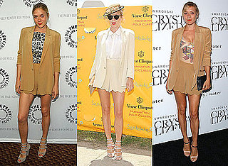 Chloe Sevigny Has Worn Chloe's Scallop Suit Three Times