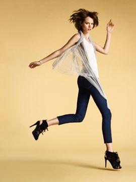 Freja Beja Erichsen Selected as J Brand's Fall 2009 Model