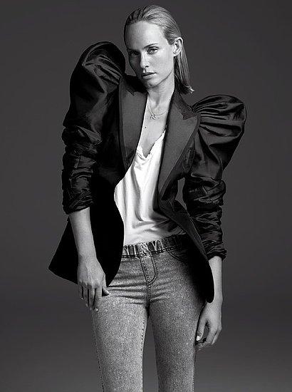 Photos of Amber Valletta For V Magazine 2009 October Issue