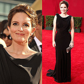 Photo of Tina Fey on the Emmy Awards Red Carpet