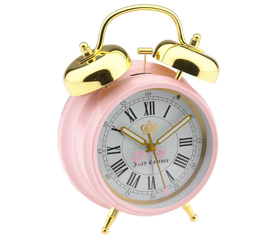 Juicy Couture 'Back to School' Alarm Clock