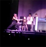 Rocco Ritchie Break-Dancing at Madonna Concert