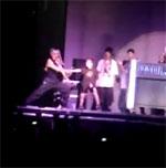 Rocco Ritchie Break-Dancing at Madonna Concert