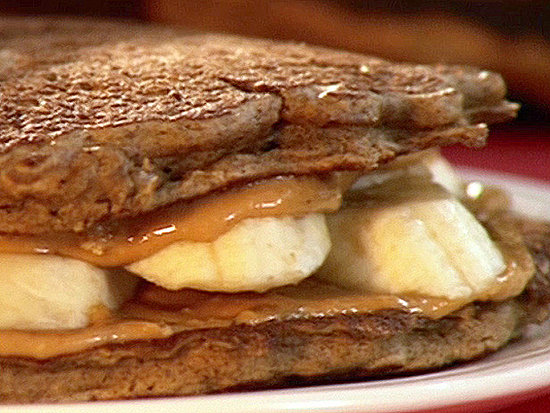 Elvis Pancake Sandwiches: Breakfast and Lunch!