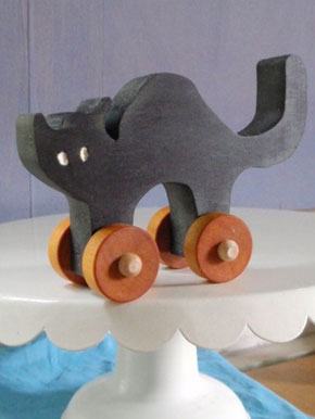 Cute Halloween Wooden Toys