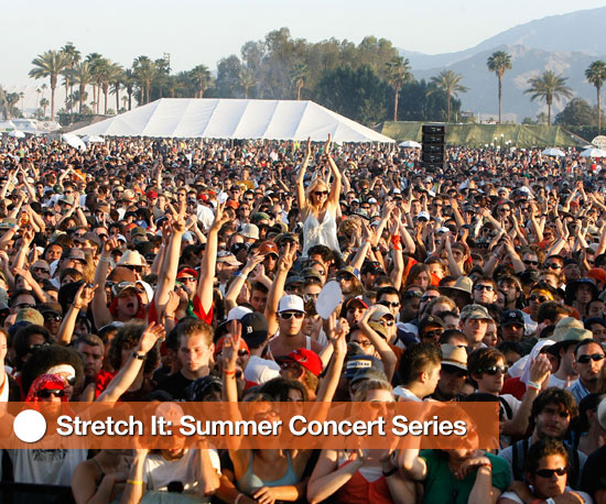 Stretches to Help You Survive Summer Concerts