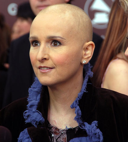 """In 2005, Melissa Etheridge recalled finding a lump that was breast cancer:  """"It was alarming because I hadn't seen it the day before. And I didn't quite understand what it was."""""""