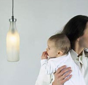 Love It or Hate It? Droog Milk Bottle Lamp