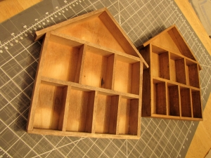 Before and After: Charming House Shelves