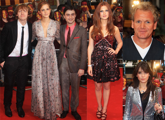 Photos Of Daniel Radcliffe, Emma Watson, Rupert Grint, Bonnie Wright, Tom Felton At Harry Potter and the Half-Blood Prince