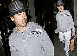 Robert Downey Jr In London