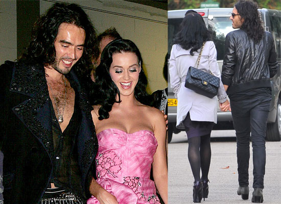 Gallery of Pictures of Katy Perry and Russell Brand Loved Up In Paris, Katy Perry and Russell Brand At John Galliano Show,