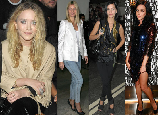 Extensive Gallery of Pictures Of All The Celebrities At Paris Fashion Week, Katy Perry At Paris Fashion Week, Mary-Kate Olsen